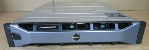 Dell Compellent SC200 72TB SAS (12 x 6TB SAS) Expansion Enclosure